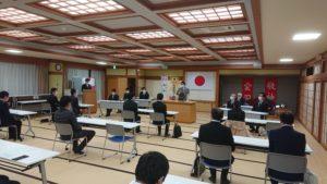 臨時総会を開催~次期会長に滋賀明寛君を選出しました