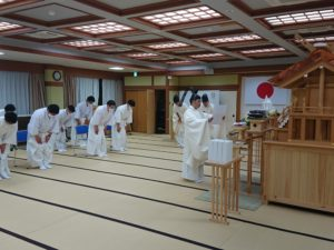 東日本大震災復興祈願祭を催行しました